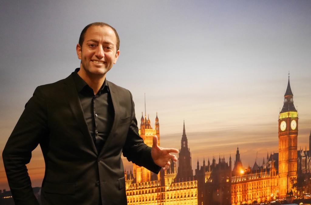 Mazerate:s VD Saleh Sulefani är förväntansfull inför den 25 februari.